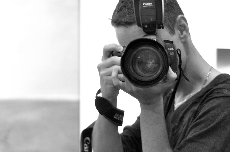 photographing a photographer
